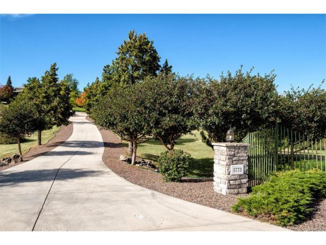 5773 Saddle Creek Trail, Parker, CO 80134 (MLS #3741039) :: 8z Real Estate