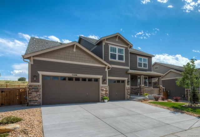 7288 Oasis Drive, Castle Rock, CO 80108 (#3769839) :: House Hunters Colorado