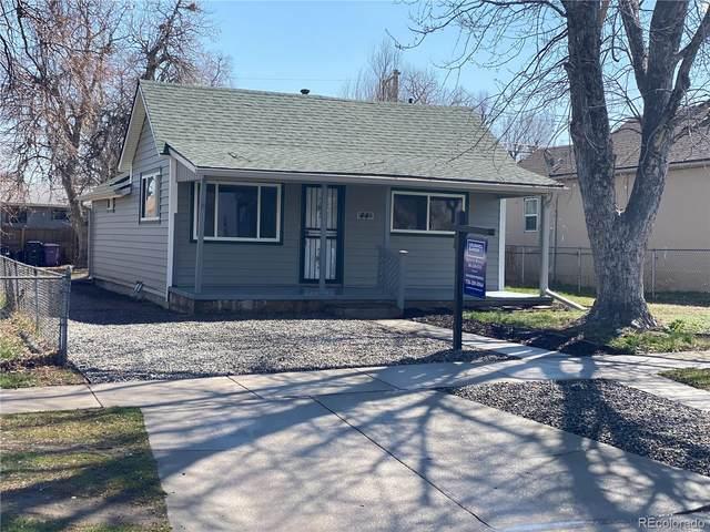 44 S Hooker Street, Denver, CO 80219 (MLS #3827745) :: 8z Real Estate