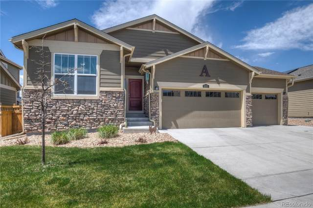 6105 Marble Mill Place, Frederick, CO 80516 (#3831378) :: The Dixon Group
