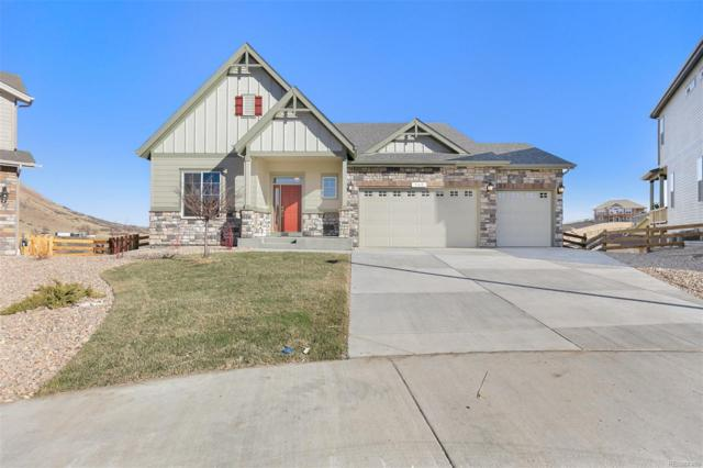 368 Sage Grouse Circle, Castle Rock, CO 80109 (#3840670) :: The HomeSmiths Team - Keller Williams