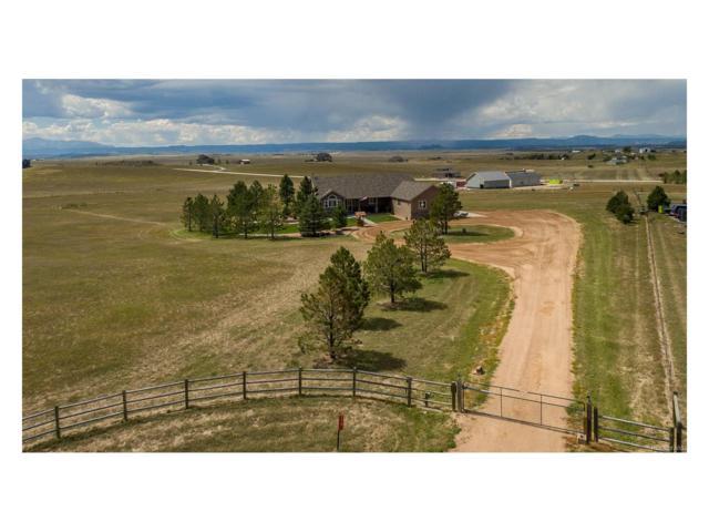 970 Harmony Ridge, Elizabeth, CO 80107 (MLS #3851601) :: 8z Real Estate