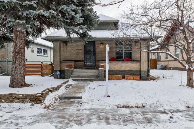 1010 Monroe Street, Denver, CO 80206 (#3879343) :: The Griffith Home Team