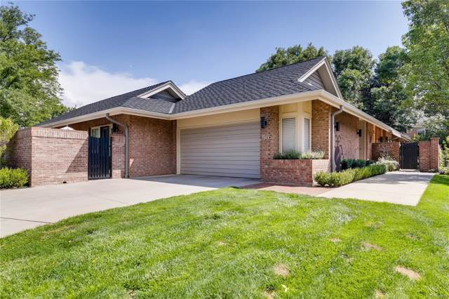 2552 E Alameda Avenue #50, Denver, CO 80209 (#3880395) :: The HomeSmiths Team - Keller Williams