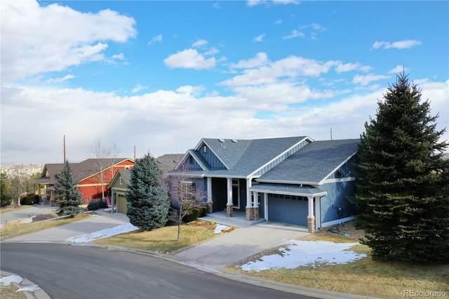 1608 Suncrest Road, Castle Rock, CO 80104 (#3892746) :: The Brokerage Group