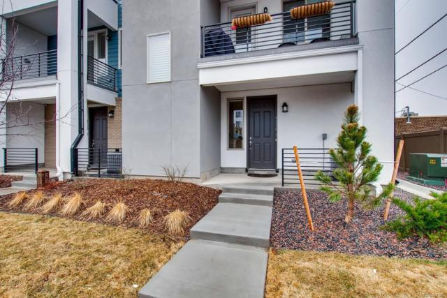 4120 E Warren Avenue #1, Denver, CO 80222 (#3898098) :: Compass Colorado Realty