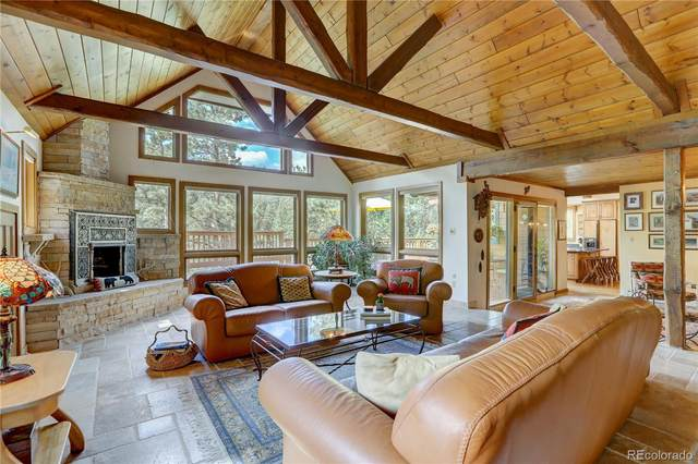 31465 Upper Bear Creek Road, Evergreen, CO 80439 (#3948679) :: The Colorado Foothills Team | Berkshire Hathaway Elevated Living Real Estate
