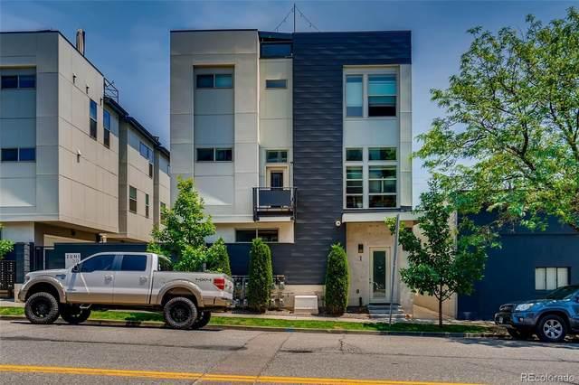 3016 Zuni Street #4, Denver, CO 80211 (#4010670) :: Finch & Gable Real Estate Co.