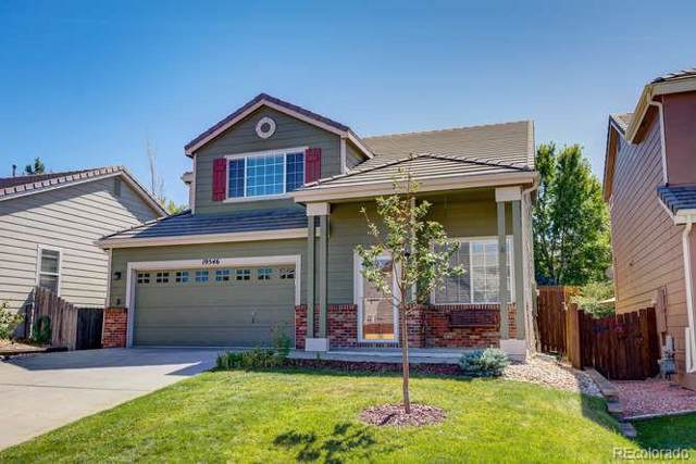 19546 E Bellisario Creek Drive, Parker, CO 80134 (#4019683) :: The Galo Garrido Group