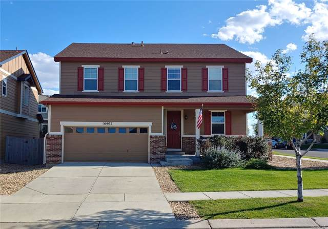 16402 E 96th Way, Commerce City, CO 80022 (#4040878) :: The Heyl Group at Keller Williams