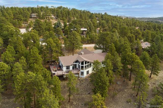 2887 Hiwan Drive, Evergreen, CO 80439 (#4048527) :: Mile High Luxury Real Estate