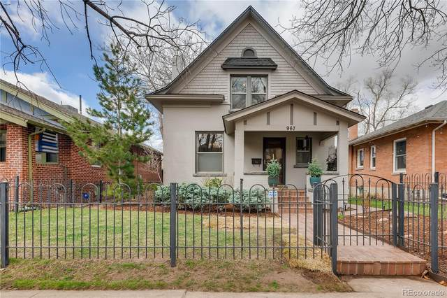 967 S Ogden Street, Denver, CO 80209 (#4056036) :: Wisdom Real Estate