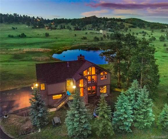 7082 Silverhorn Drive, Evergreen, CO 80439 (#4062648) :: The Harling Team @ Homesmart Realty Group
