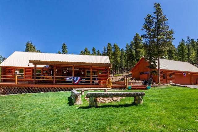 1500 Little Bear Creek Road, Idaho Springs, CO 80452 (#4068856) :: The DeGrood Team