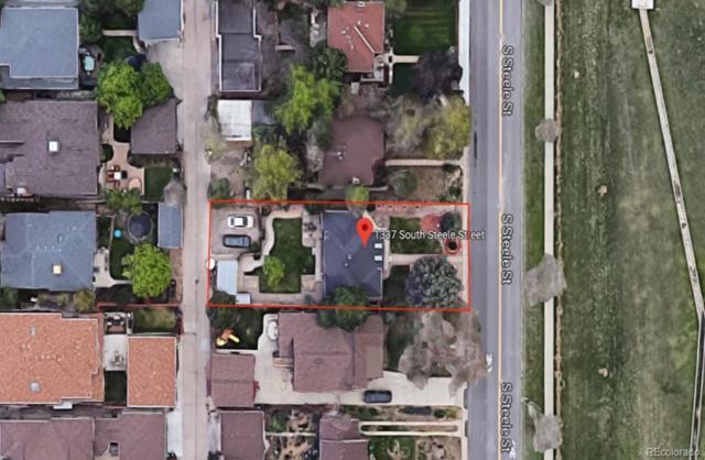 1337 S Steele Street, Denver, CO 80210 (#4078135) :: The HomeSmiths Team - Keller Williams