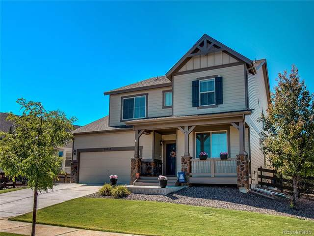 22038 E Stroll Avenue, Parker, CO 80138 (#4103119) :: The DeGrood Team