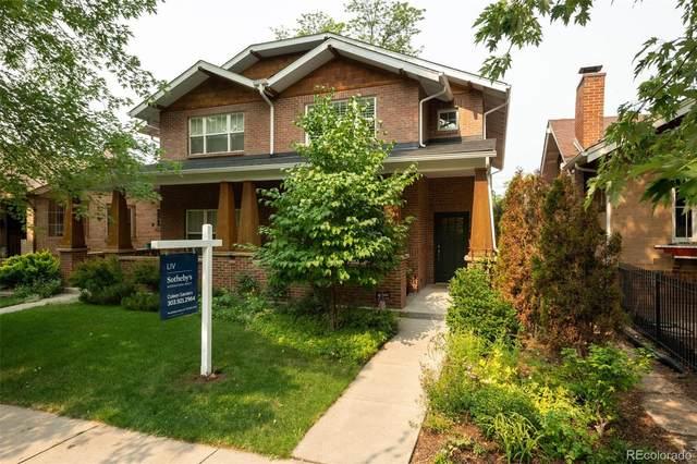 609 S Ogden Street, Denver, CO 80209 (#4106172) :: Kimberly Austin Properties