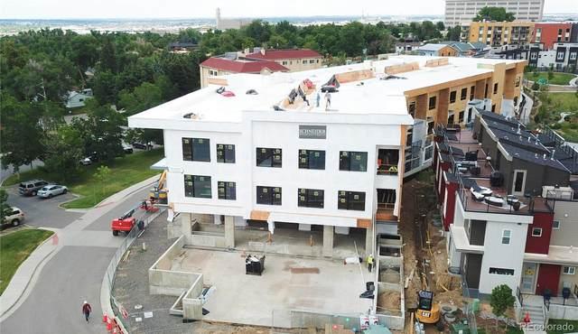 2876 W 53rd Avenue #201, Denver, CO 80221 (#4115355) :: Finch & Gable Real Estate Co.