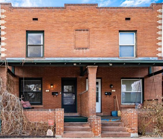 79 S Grant Street, Denver, CO 80209 (#4122607) :: My Home Team