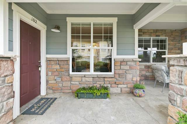 9311 Amison Circle #102, Parker, CO 80134 (#4127101) :: The Healey Group