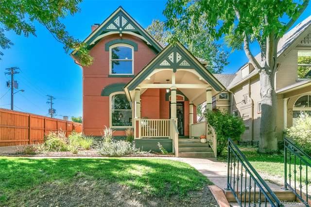 1545 N Ogden Street, Denver, CO 80218 (#4136347) :: The Gilbert Group