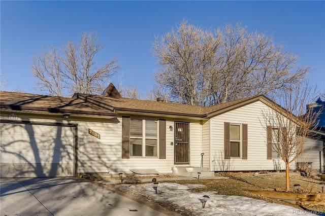 2107 S Idalia Street, Aurora, CO 80013 (#4156763) :: The Colorado Foothills Team | Berkshire Hathaway Elevated Living Real Estate