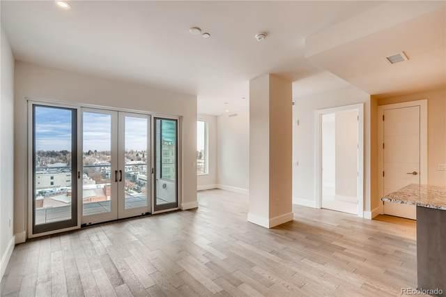 155 Steele Street #915, Denver, CO 80206 (#4159101) :: Berkshire Hathaway Elevated Living Real Estate