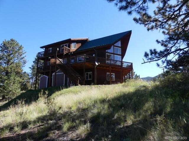 316 Sunset Lane, Cripple Creek, CO 80813 (#4222160) :: Venterra Real Estate LLC