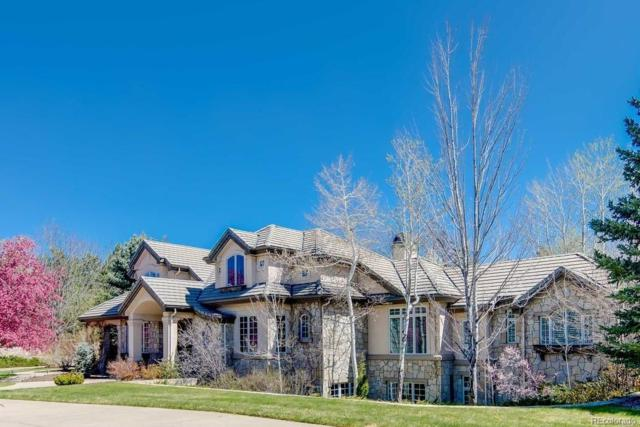 6 Churchill Drive, Cherry Hills Village, CO 80113 (#4225371) :: The Galo Garrido Group