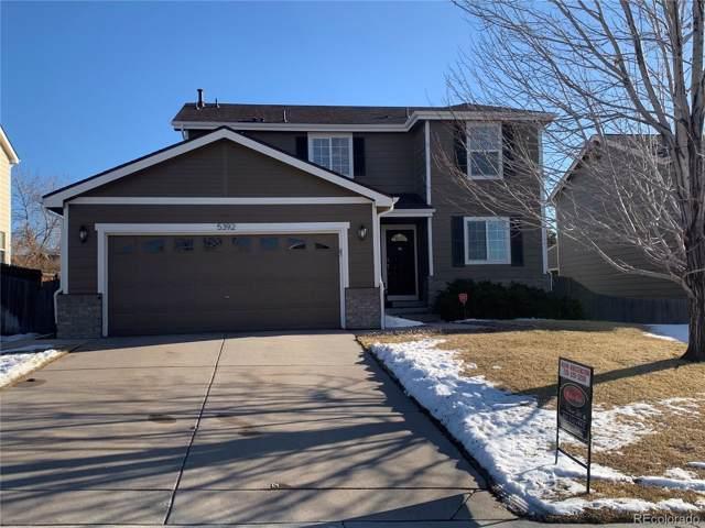 5392 S Rome Street, Aurora, CO 80015 (MLS #4277202) :: 8z Real Estate