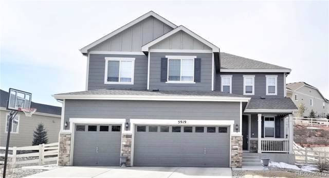 5919 Clover Ridge Circle, Castle Rock, CO 80104 (#4292871) :: Hudson Stonegate Team