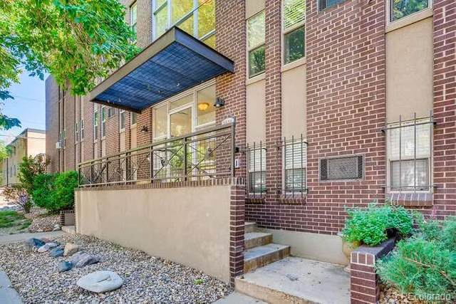 2020 E 14th Avenue #103, Denver, CO 80206 (#4296854) :: Chateaux Realty Group