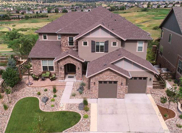 11512 Pine Canyon Lane, Parker, CO 80138 (#4301327) :: The Gilbert Group