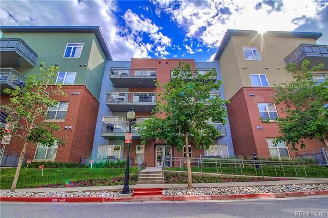 1440 Little Raven Street #105, Denver, CO 80202 (#4302241) :: HergGroup Denver