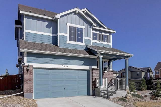 3321 Riverwood Way, Castle Rock, CO 80109 (#4366290) :: The HomeSmiths Team - Keller Williams