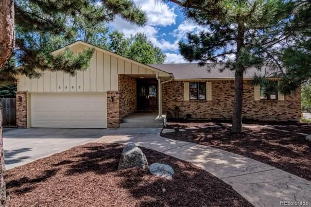 5505 Saddle Rock Place, Colorado Springs, CO 80918 (#4371857) :: milehimodern