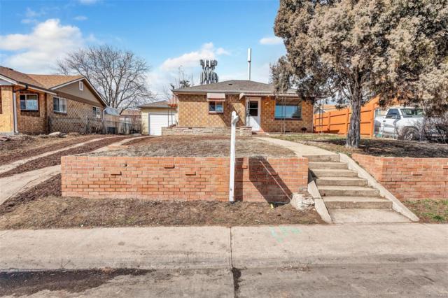241 S Zenobia Street, Denver, CO 80219 (#4407192) :: Wisdom Real Estate