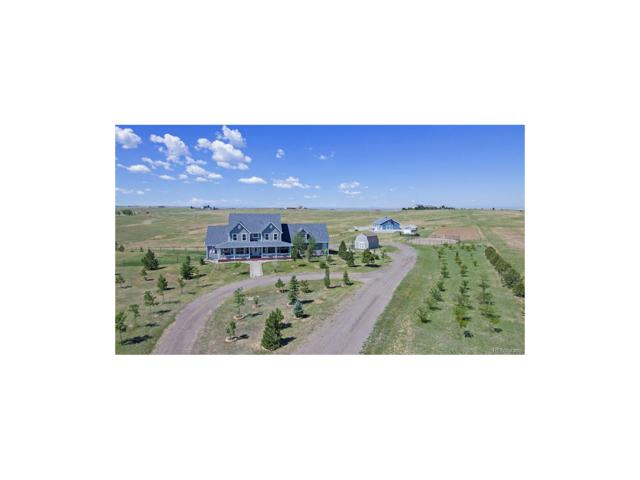 47895 Foxwood Drive, Elizabeth, CO 80107 (MLS #4428225) :: 8z Real Estate
