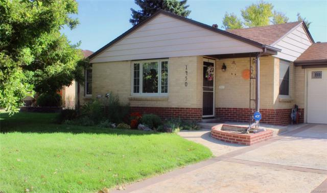 1450 S Bellaire Street, Denver, CO 80222 (#4432310) :: Bring Home Denver