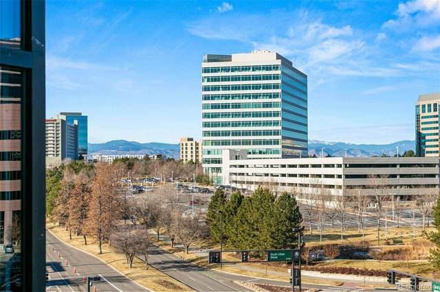 8100 E Union Avenue #511, Denver, CO 80237 (#4435545) :: The Margolis Team