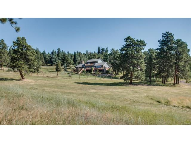 5178 S Elk Ridge Road, Evergreen, CO 80439 (MLS #4468034) :: 8z Real Estate