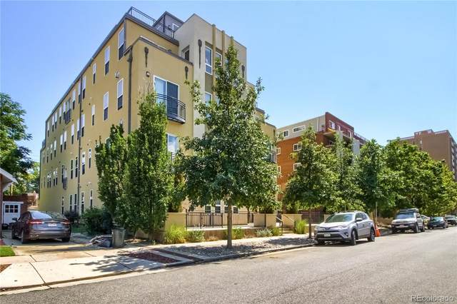340 S Lafayette Street #402, Denver, CO 80209 (#4469450) :: Chateaux Realty Group