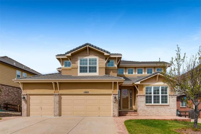 11863 Bent Oaks Street, Parker, CO 80138 (#4591895) :: The Gilbert Group