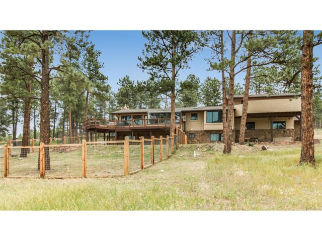 29499 Buchanan Drive, Evergreen, CO 80439 (MLS #4601543) :: 8z Real Estate