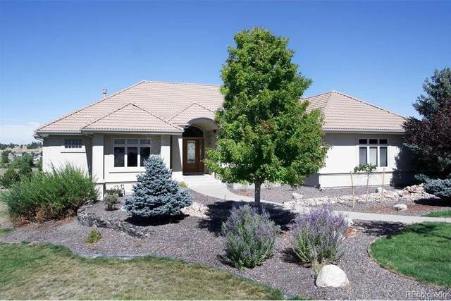 9938 Bluestar Drive, Parker, CO 80138 (#4606644) :: The DeGrood Team