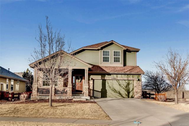 22899 Hale Avenue, Parker, CO 80138 (#4607995) :: The Peak Properties Group