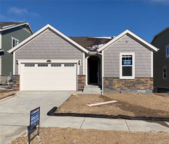 15908 Red Bud Drive, Parker, CO 80134 (#4614333) :: HomePopper