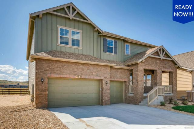 11689 Jacobsen Street, Parker, CO 80134 (#4630266) :: Bring Home Denver