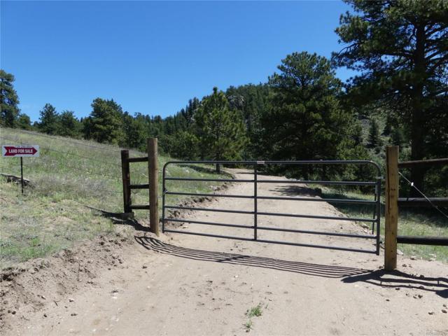 Tbd Mica Mountain Road, Golden, CO 80403 (#4669557) :: Wisdom Real Estate