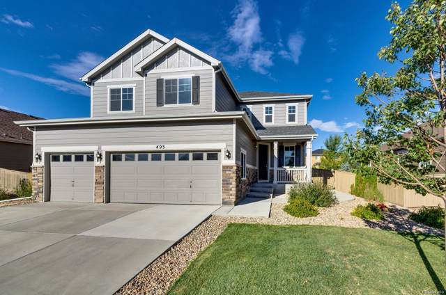 493 Sudbury Street, Castle Rock, CO 80104 (#4709174) :: Wisdom Real Estate